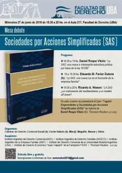 Mesa debate - Sociedades por Acciones Simplificadas (SAS)