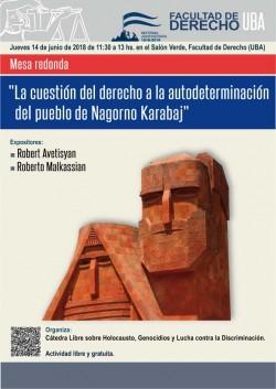 """Mesa redonda sobre """"El Derecho a la Autodeterminación del pueblo de Nagorno Karabaj"""""""