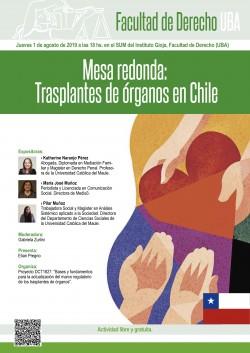 Mesa redonda: Trasplantes de órganos en Chile