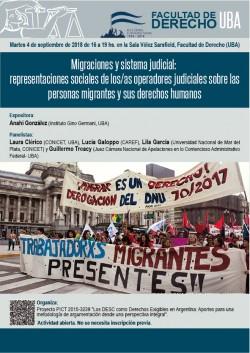 Migraciones y sistema judicial: representaciones sociales de los/as operadores judiciales sobre las personas migrantes y sus derechos humanos