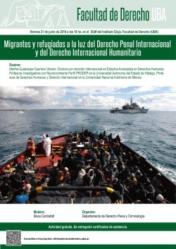 Migrantes y refugiados a la luz del Derecho Penal Internacional y del Derecho Internacional Humanitario