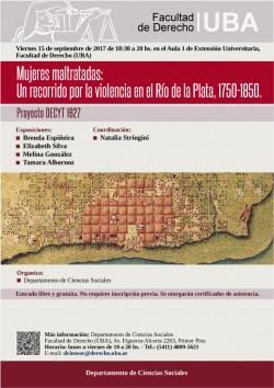 Mujeres maltratadas: Un recorrido por la violencia en el Río de la Plata, 1750-1850