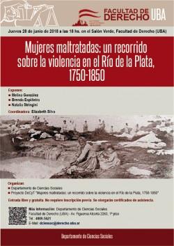 Mujeres maltratadas: un recorrido sobre la violencia en el Río de la Plata, 1750-1850