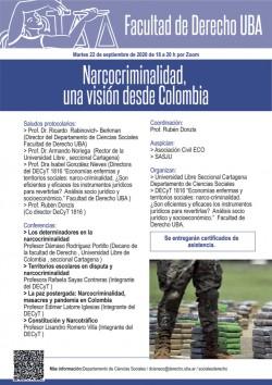 Narcocriminalidad, una visi贸n desde Colombia