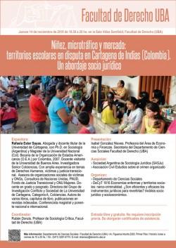 Niñez, microtráfico y mercado: territorios escolares en disputa en Cartagena de Indias (Colombia). Un abordaje socio jurídico