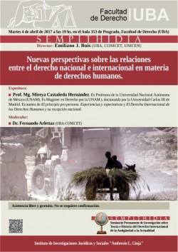 Nuevas perspectivas sobre las relaciones entre el derecho nacional e internacional en materia de derechos humanos