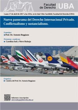 Nuevo panorama del Derecho Internacional Privado. Conflictualismo y sustancialismo