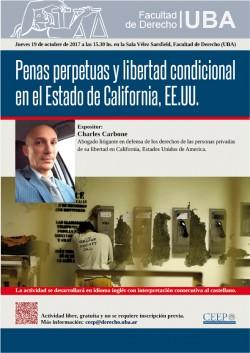 Penas perpetuas y libertad condicional en el Estado de California, EE.UU.