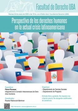 Perspectiva de los derechos humanos en la actual crisis latinoamericana