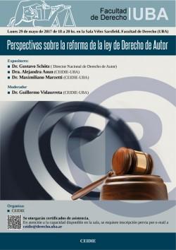 Perspectivas sobre la reforma de la ley de Derecho de Autor