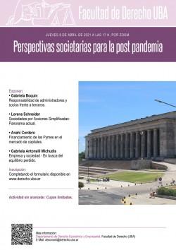 Perspectivas societarias para la post pandemia