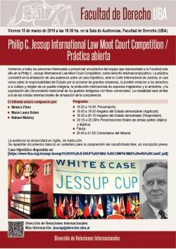 Philip C. Jessup International Law Moot Court Competition / Práctica abierta