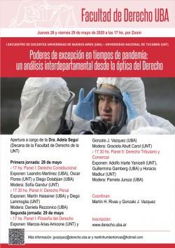 Poderes de excepción en tiempos de pandemia: un análisis interdepartamental desde la óptica del Derecho