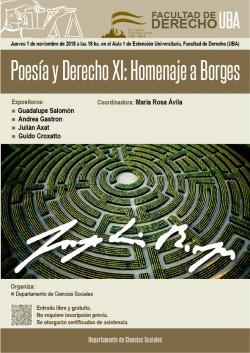 Poesía y Derecho XI: Homenaje a Borges