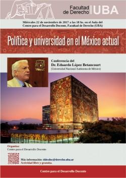 Debates actuales en la educación superior mexicana