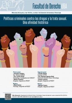 Políticas criminales contra las drogas y la trata sexual. Una afinidad histórica