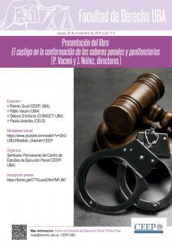 Presentación del libro <i>El castigo en la conformación de los saberes penales y penitenciarios</i> (P. Vacani y J. Núñez, directores)