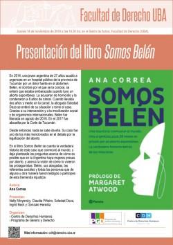 Presentación del libro <i>Somos Belén</i>