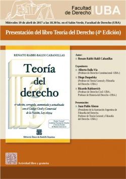 Presentación del libro <i>Teoría del Derecho 4º Edición</i>