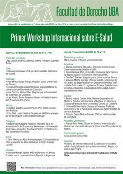 Primer Workshop Internacional sobre E-Salud