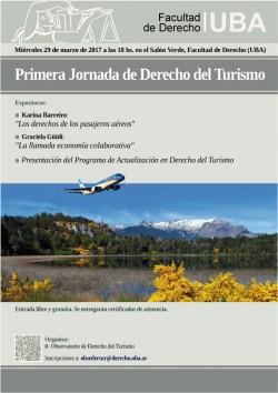 Primera jornada de Derecho del Turismo