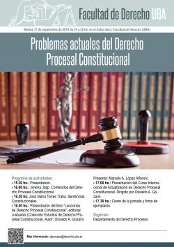 Problemas actuales del Derecho Procesal Constitucional