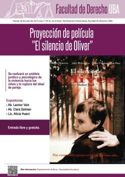 """Proyección de película """"El silencio de Oliver"""""""