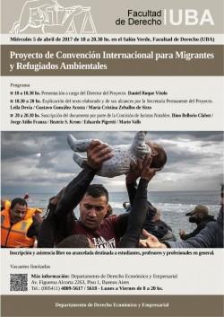 Proyecto de Convención Internacional para Migrantes y Refugiados Ambientales