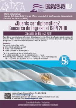 ¿Querés ser diplomático? Concurso de Ingreso al ISEN 2018