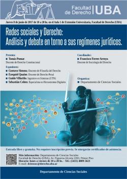 Redes sociales y Derecho: Análisis y debate en torno a sus regímenes jurídicos