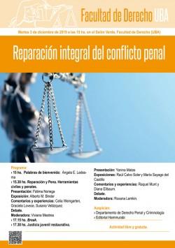 Reparación integral del conflicto penal