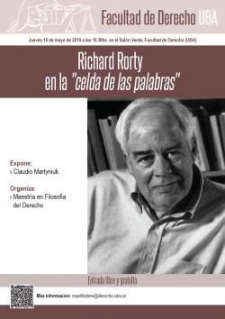 """Richard Rorty en la """"celda de las palabras"""""""
