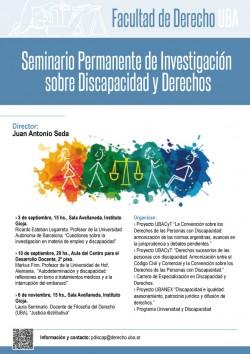 Seminario de Investigación sobre Discapacidad y Derechos