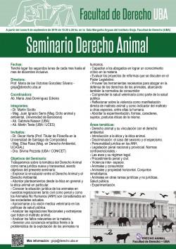 Seminario sobre Derecho Animal