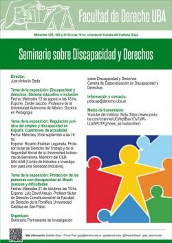 Seminario sobre Discapacidad y Derechos
