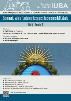Seminario sobre Fundamentos constitucionales del Estado