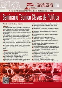 Seminario Técnico Claves de Política