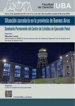 Situación carcelaria en la provincia de Buenos Aires