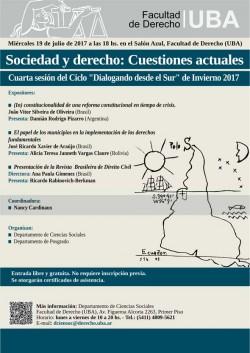 Sociedad y derecho: Cuestiones actuales