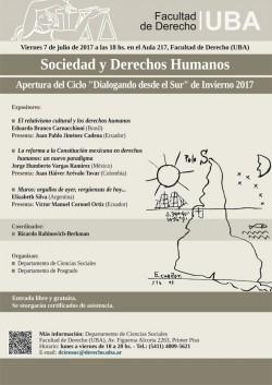 Sociedad y derechos humanos