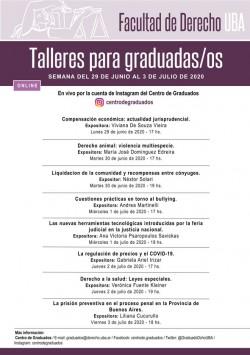 """Taller online """"Derecho a la salud: Leyes especiales"""""""