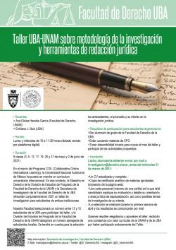 Taller UBA-UNAM sobre metodología de la investigación y herramientas de redacción jurídica