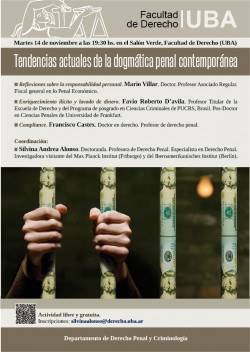 Tendencias actuales de la dogmática penal contemporánea
