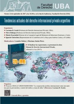 Tendencias actuales del derecho internacional privado argentino