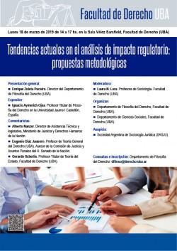 Tendencias actuales en el análisis de impacto regulatorio: propuestas metodológicas
