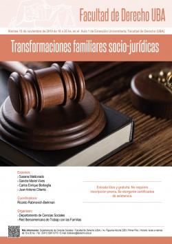 Transformaciones familiares socio-jurídicas