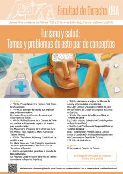 Turismo y salud: Temas y problemas de este par de conceptos