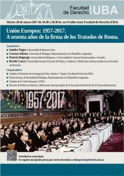 Unión Europea: 1957-2017. A sesenta años de la firma de los Tratados de Roma