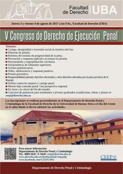 V Congreso de Derecho de Ejecución Penal