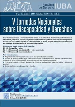 V Jornadas Nacionales sobre Discapacidad y Derechos